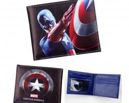 Kožená peňaženka z kolekcie MARVEL AVENGERS - Captain America 002