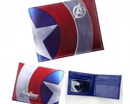 Kožená peňaženka z kolekcie MARVEL AVENGERS - Captain America 003