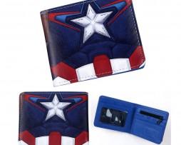Kožená peňaženka z kolekcie MARVEL AVENGERS - Captain America 004