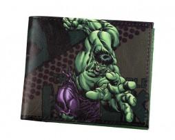 Kožená peňaženka z kolekcie MARVEL AVENGERS - Hulk 002