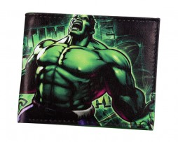 Kožená peňaženka z kolekcie MARVEL AVENGERS - Hulk 003