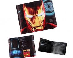Kožená peňaženka z kolekcie MARVEL AVENGERS - Iron Man 001