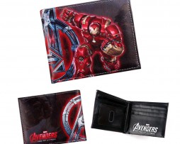 Kožená peňaženka z kolekcie MARVEL AVENGERS - Iron Man 004