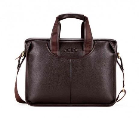 Pánska kožená pracovná taška na tablet vo farbách. Táto nádherná kožená taška na rameno poteší a padne do oka každému (6)