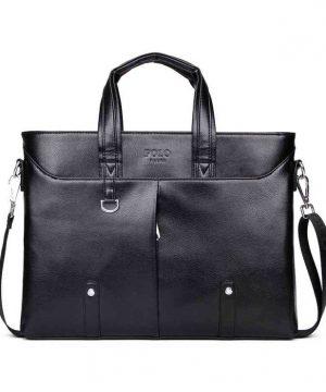 Praktická kožená pracovná taška vo farbách. Táto nádherná kožená taška na rameno poteší a padne do oka každému (2)