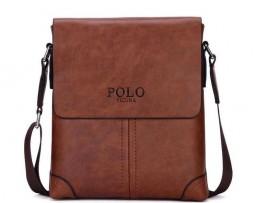 Retro kožená taška cez plece POLO vo farbách. Dizajnová a kvalitná taška pre mladých a sebavedomých ľudí, ktorí žijú naplno (2)