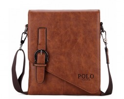 Unikátna kožená taška cez plece POLO vo farbách. Dizajnová a kvalitná taška pre mladých a sebavedomých ľudí, ktorí žijú naplno (1)