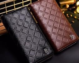 Unisex kožená peňaženka s bohatou výbavou vo farbách