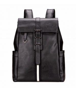 Unisex módny ruksak z kože. Tento ruksak robí sám sebe veľkú česť svojmu menu, pretože investícia do neho sa určite vyplatí. (1)