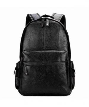 Unisex mestský ruksak z kože vo farbách vhodný pre pánov aj dámy (4)