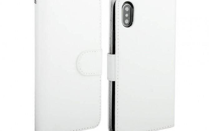 Magnetický-univerzálny-obal-pre-iPhone-X-z-kože-v-bielej-farbe-