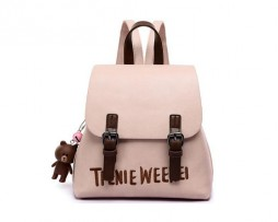 Dámsky batoh s macíkom pre mladých vo farbách (5)