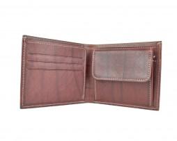 Luxusná peňaženka z pravej kože č.7942 v bordovej farbe (1)