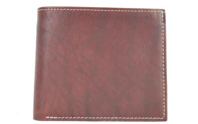 5231bea78a Luxusná peňaženka z pravej kože č.7942 v bordovej farbe