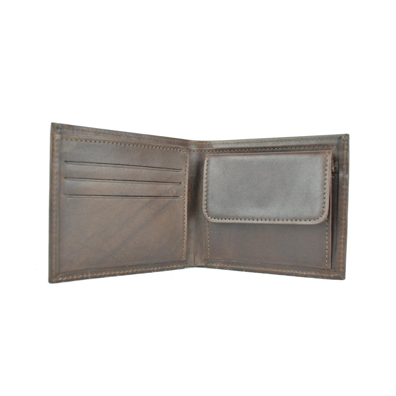 45dd4478dc Luxusná peňaženka z pravej kože č.7942 v tmavo hnedej farbe – Kožená ...