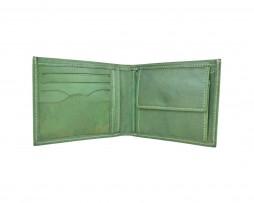 Pánska peňaženka z pravej kože č.8406 v zelenej farbe (1)