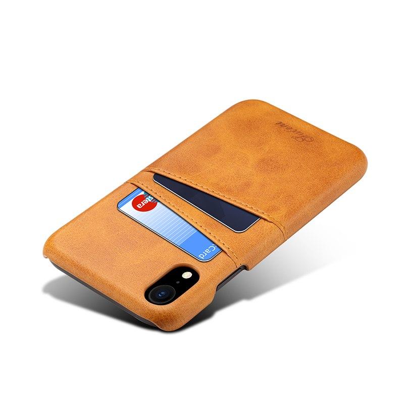 Kožený kryt pre iPhone XS MAX s púzdrom na karty 7a307977555