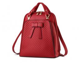 Elegantný dámsky ruksak s možnosťou využitia kabelky vo farbách (1)