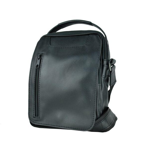 Luxusná kožená etuja č.8400, lesklá hladká koža v čiernej farbe (4)