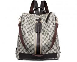 Retro nádherný batoh s možnosťou využitia ako tašky (4)