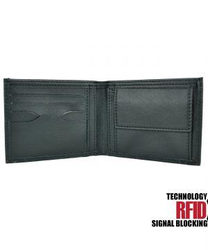 Kožená RFID peňaženka zabraňuje nežiaducemu zneužitiu bezkontaktnej platby (1)