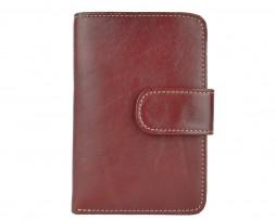Dámska praktická kožená peňaženka č.8503 v bordovej farbe ... a7978e9e233