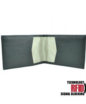 Ochranné kožené púzdro na debetné a kreditné karty v čiernej farbe (1)