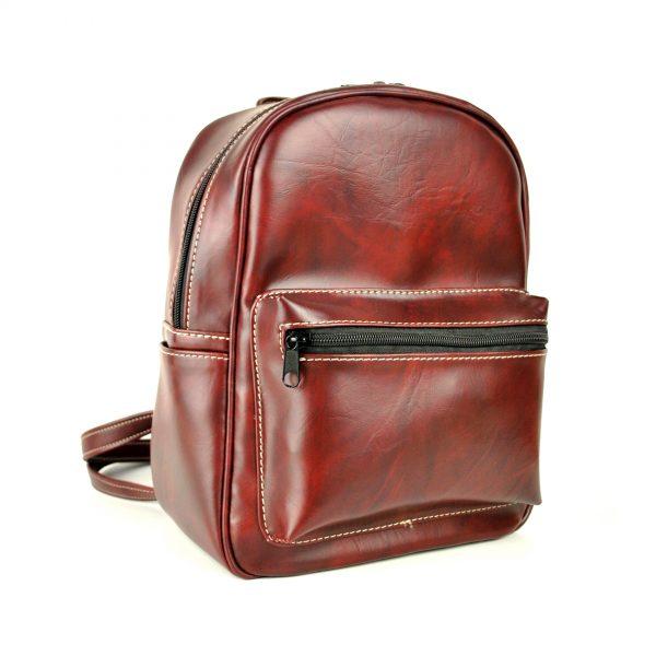 Dámsky praktický ruksak 8672k v bordovej farbe.