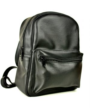 Dámsky praktický ruksak 8672k v čiernej farbe