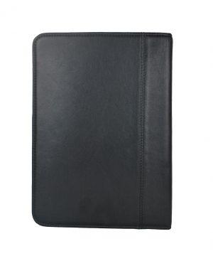 Exkluzívna kožená spisovka č.8162 v čiernej farbe.