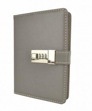kožený denník na heslo
